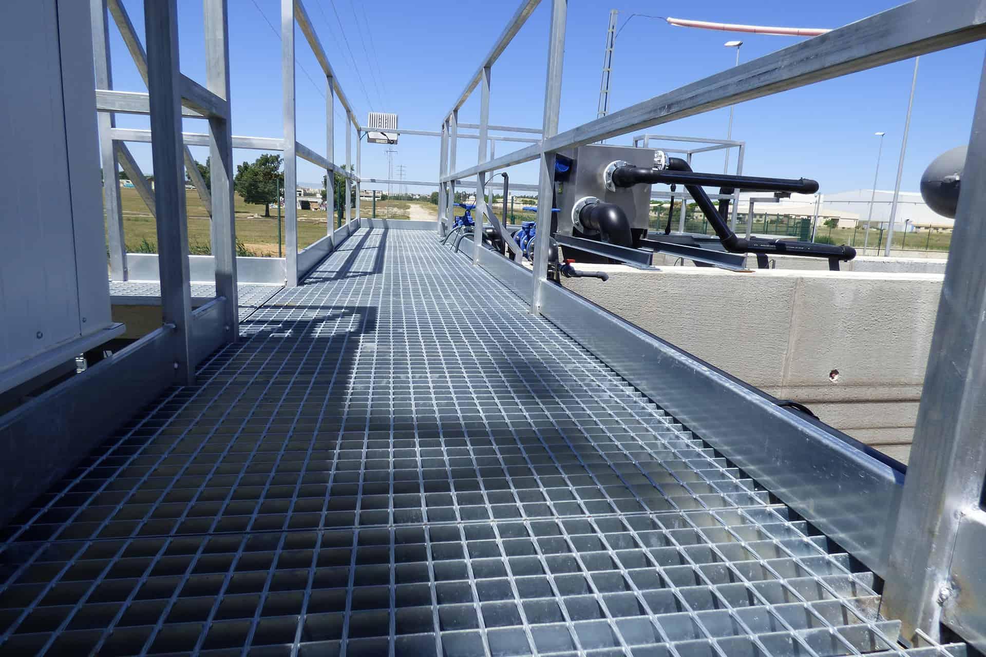 Depuracion Aguas Residuales para Factoria Airbus