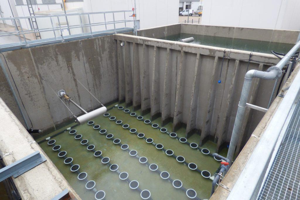 Estacion de Depuracion Aguas Residuales en Airbus San Pablo