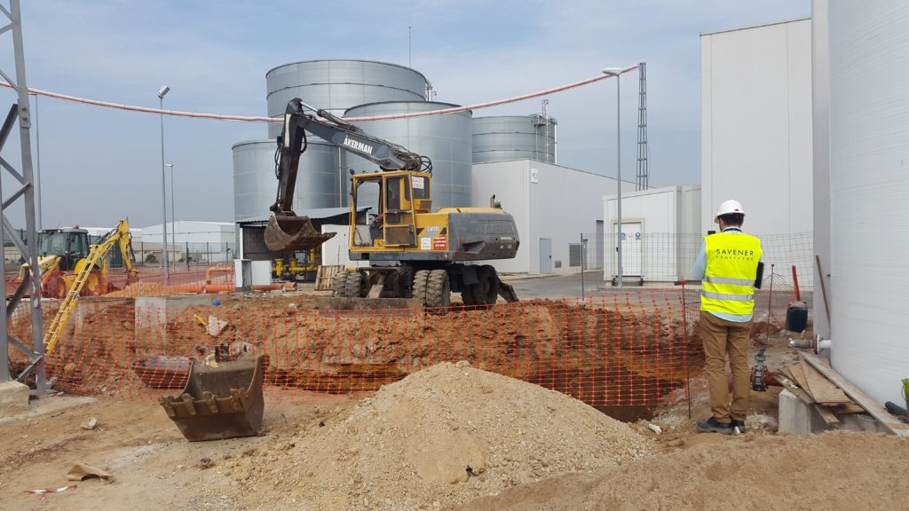 Estacion de Depuracion de Aguas Residuales San Pablo Sur
