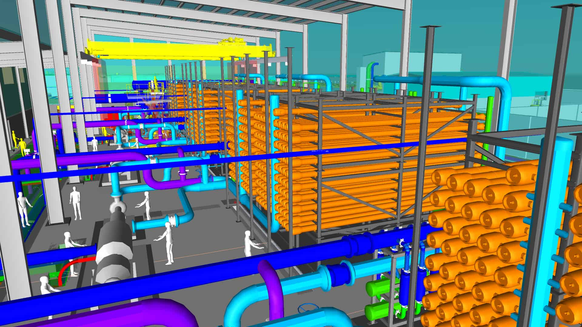 HVAC Thermal Systems desalination plant