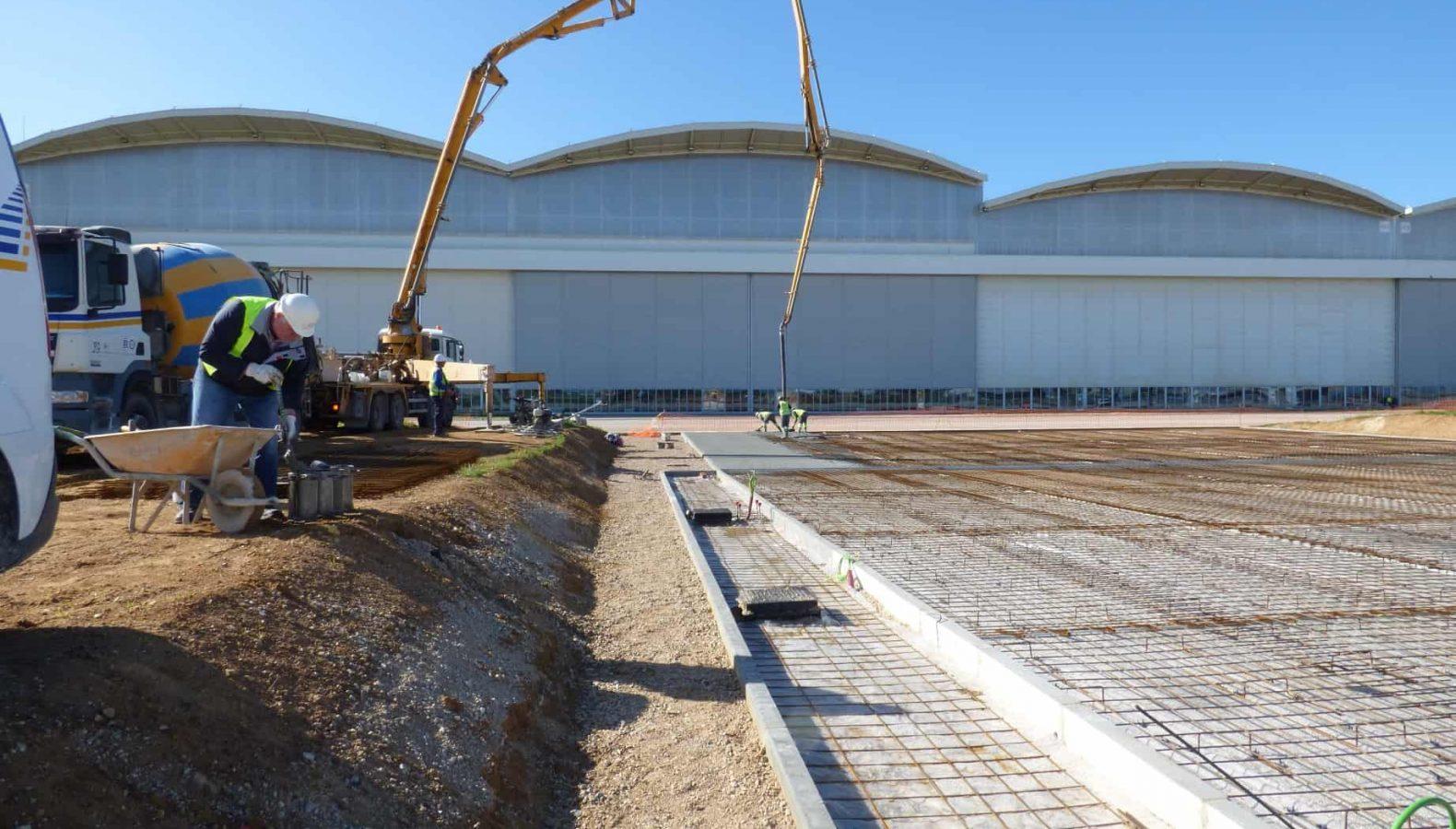 Parking Camiones Cisterna Infraestructura Aeroportuaria