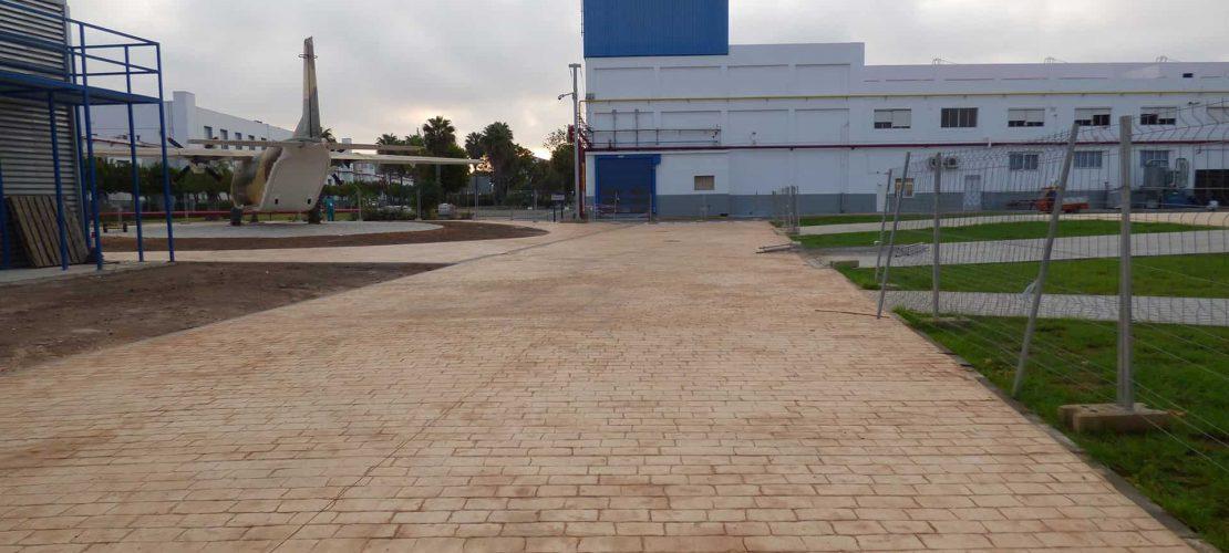 Reurbanizacion zona noroeste Tablada Sevilla