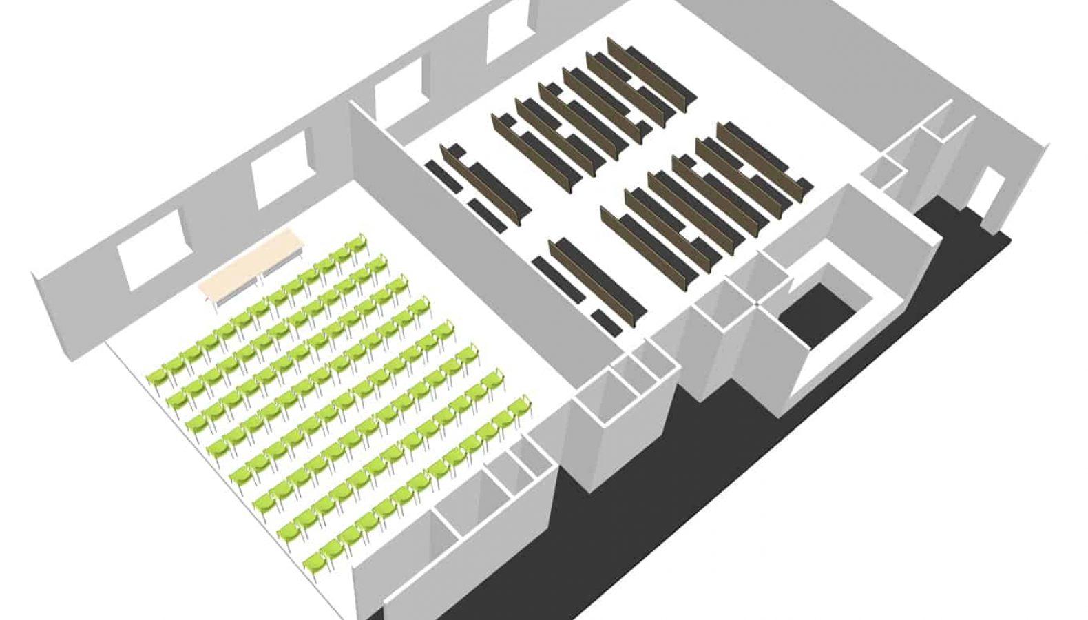 Salon de Actos Factoria de Tablada Airbus