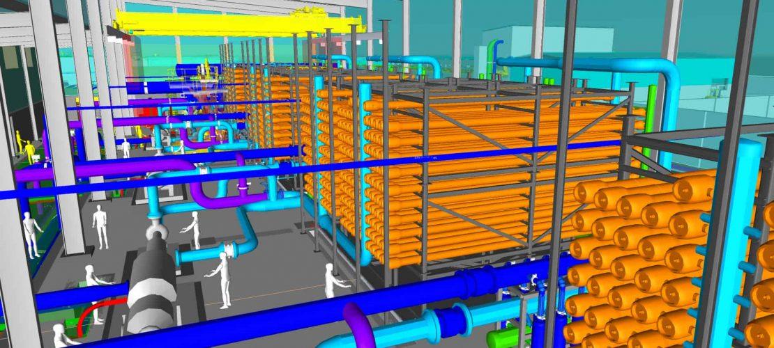 Sistemas Termicos HVAC planta desalinizadora