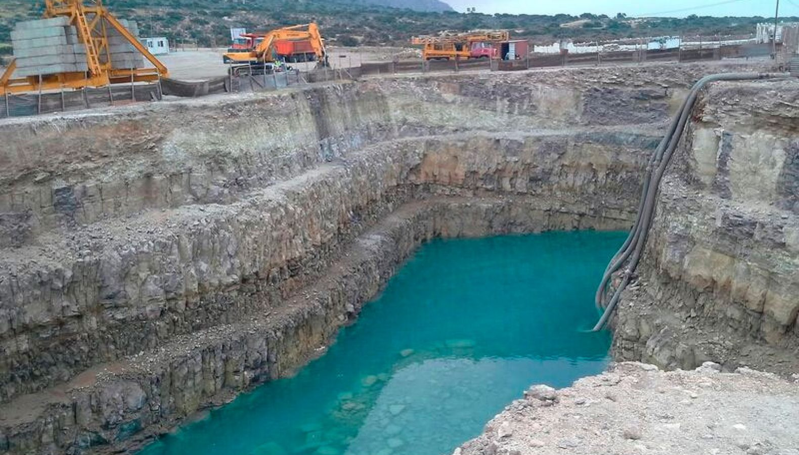 Solar Saline Water Reverse Osmosis AL KHAFJI